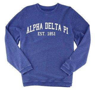 Alpha Delta Pi Rally Corduroy Crew