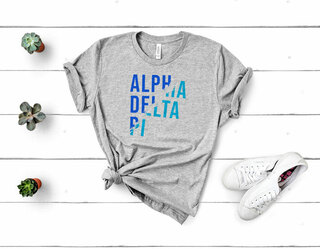 Alpha Delta Pi Ripped Favorite T-Shirt