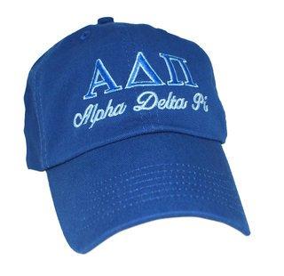 Alpha Delta Pi Script Cap