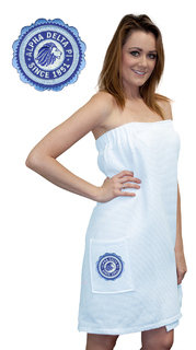Alpha Delta Pi Seal Towel Wrap