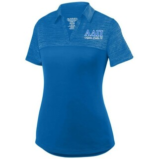 Alpha Delta Pi Shadow Tonal Sport Polo