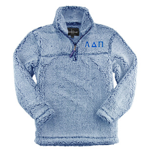 Alpha Delta Pi Sherpa Quarter Zip Pullover