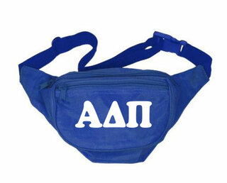 Alpha Delta Pi Sorority Big Letter Fanny Pack