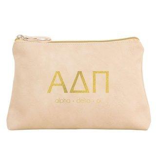 Alpha Delta Pi Sorority Cosmetic Bag