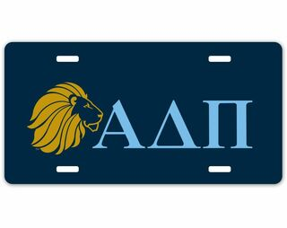 Alpha Delta Pi Sorority Logo License Cover