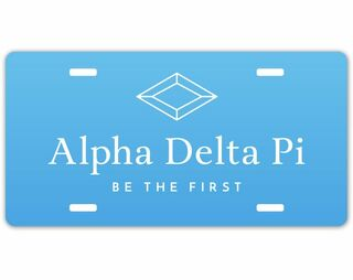 Alpha Delta Pi Sorority Logo License Cover