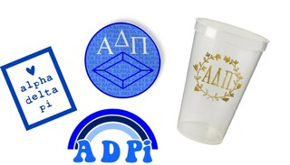 Alpha Delta Pi Sorority Large Pack $15.00