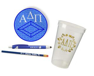 Alpha Delta Pi Sorority Mascot Set $8.99