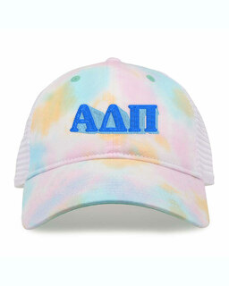 Alpha Delta Pi Sorority Sorbet Tie Dyed Twill Hat