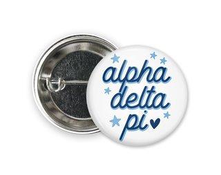 Alpha Delta Pi Star Button