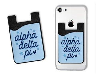Alpha Delta Pi Star Card Caddy