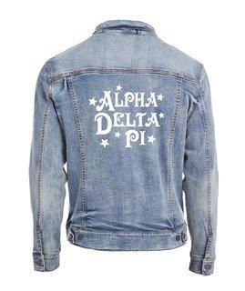 Alpha Delta Pi Star Struck Denim Jacket