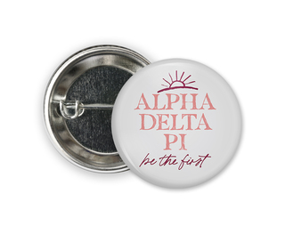 Alpha Delta Pi Sun Button