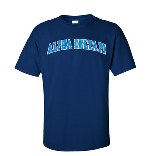 Alpha Delta Pi Super Saver Letterman T-Shirt