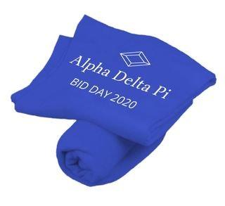 Alpha Delta Pi Mascot Sweatshirt Blankets