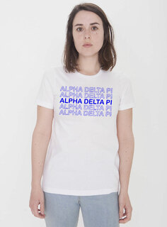 Alpha Delta Pi Thank You For Shopping Tee - Comfort Colors