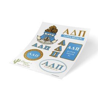 Alpha Delta Pi Traditional Sticker Sheet