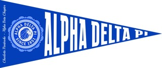 Alpha Delta Pi Wall Pennants
