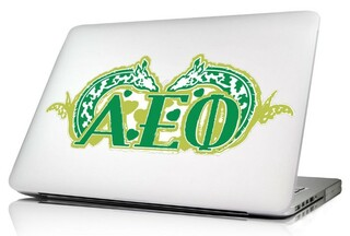 Alpha Epsilon Phi 10 x 8 Laptop Skin/Wall Decal