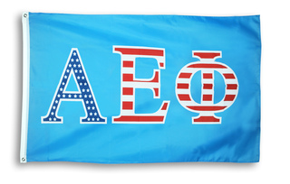 Alpha Epsilon Phi 3 X 5 USA Flag