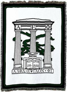 Alpha Epsilon Phi Afghan Blanket Throw