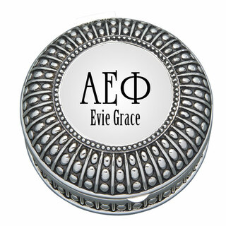 Alpha Epsilon Phi Antique Beaded Pin Box