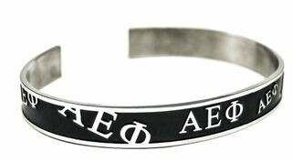 Alpha Epsilon Phi Bangle (Black)