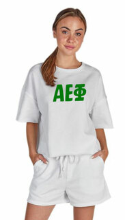 Alpha Epsilon Phi Clifton Sweatshirt & Short Set