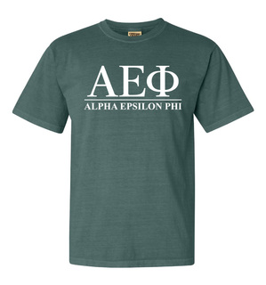 Alpha Epsilon Phi Comfort Colors Heavyweight T-Shirt