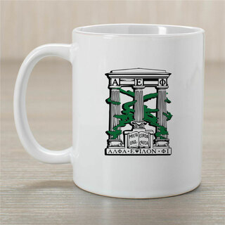 Alpha Epsilon Phi Crest Coffee Mug