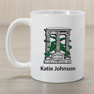 Alpha Epsilon Phi Crest Coffee Mug - Personalized!