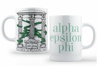 Alpha Epsilon Phi Crest - Shield Coffee Mug