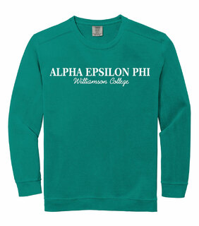 Alpha Epsilon Phi Custom Comfort Colors Greek Crewneck Sweatshirt