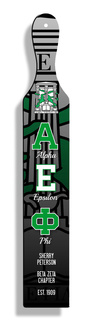 Alpha Epsilon Phi Custom Full Color Paddle