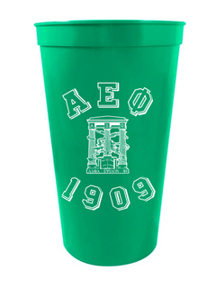 Alpha Epsilon Phi Custom Greek Crest Est Stadium Cup