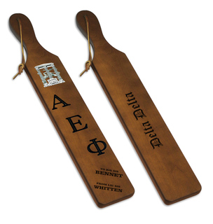 Alpha Epsilon Phi Custom Paddle