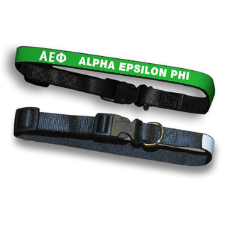 Alpha Epsilon Phi Dog Collar