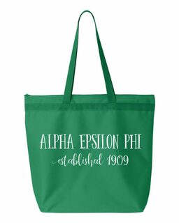 Alpha Epsilon Phi Established Tote bag