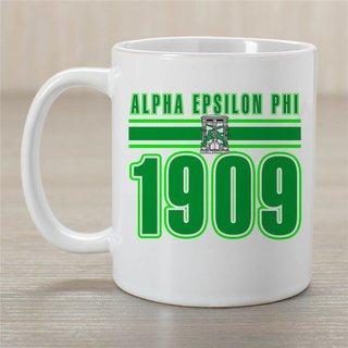 Alpha Epsilon Phi Established Year Coffee Mug - Personalized!