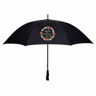 Alpha Epsilon Phi Floral Umbrella