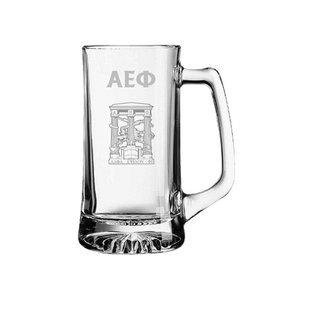 Alpha Epsilon Phi Glass Engraved Mug