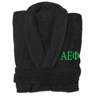 Alpha Epsilon Phi Greek Letter Bathrobe
