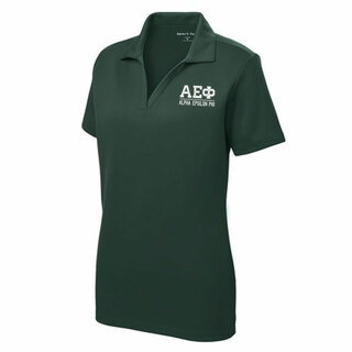 $30 World Famous Alpha Epsilon Phi Greek PosiCharge Polo