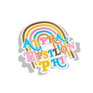 Alpha Epsilon Phi Joy Decal Sticker
