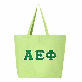DISCOUNT-Alpha Epsilon Phi Jumbo Canvas Tote