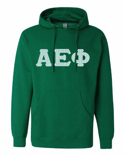 Alpha Epsilon Phi Lettered Independent Trading Co. Hooded Pullover Sweatshirt