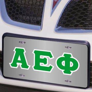 Alpha Epsilon Phi Lettered License Cover