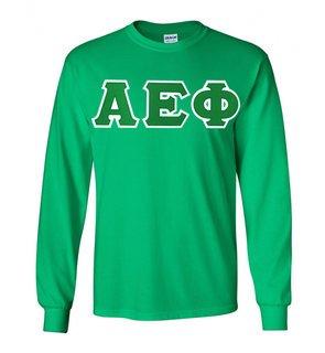 Alpha Epsilon Phi Lettered Long Sleeve Shirt
