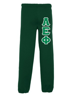 Alpha Epsilon Phi Lettered Sweatpants