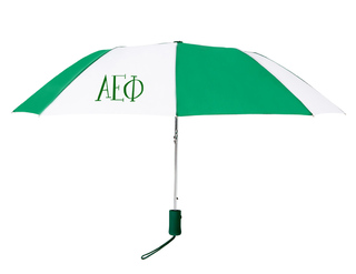 Alpha Epsilon Phi Lettered Umbrella